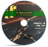 IF Magazine, 77 Classic Pulp Issues, Golden Age Science Fiction DVD CD C58