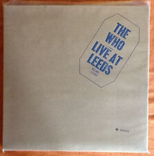 """THE WHO """"Live In Leeds"""" limited numbered CD Box"""