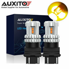 2x AUXITO 3157 3156 12 LED Turn Signal Indicator Side Light Bulb Amber Yellow
