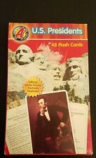 Us Presidents 48 Flash Cards