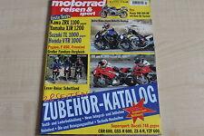 164705) Kawasaki ZRX 1100 vs Yamaha XJR 1200 - Motorrad Reisen Sport 03/1997