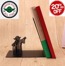Master Yoda Bookend Star Wars Book Ends Metal Holder Decor Bracket Bookshelf