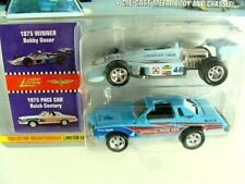 Johnny Lightning Indianapolis 500 1975 Buick Century Pace Car + Bob Unser Car S2