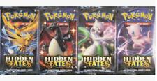 More details for pokemon- hidden fates art set- 4x sealed packs- all 4 artworks!!!