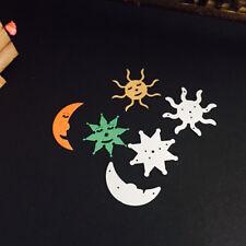 Moon Star Sun 107*45mm Metal Cutting Dies Embossing Stencil Scrapbooking 1pcs