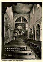 Kirchen Motiv-Postkarte Innenansicht Stiftskirche Kirche in FISCHBECK ~1950/60