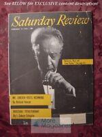 RARE Saturday Review February 11 1956 ARTUR RUBINSTEIN H. L. MENCKEN