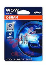 Osram W5W 2825HCBI-02B 12V 5W W2, 1X9, 5D Cool Blue Intense 2er-blister Posición
