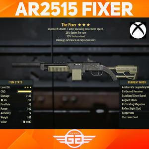 Aristocrats FFR FR Fixer ,  AR FFR FR Fixer - AR/25/15 Fixer - Fallout76 [XBOX]