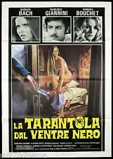LA TARANTOLA DAL VENTRE NERO MANIFESTO CINEMA FILM BOUCHET 1971 MOVIE POSTER 2F