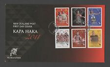 New Zealand 2011 FDC Kapa Haka set stamps