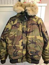 Canada Goose Chilliwack Camouflage Bomber Jacket Mens Medium