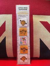 Mr Men & Little Miss Mini Magnetic Bookmark - Little Miss Sunshine. Brand New