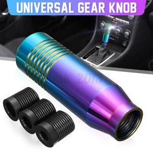 Universal Car Gear Shift Knob Shifter Manual Shifting Head 85mm Shift Lever  +-