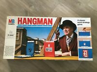 MB Games Vintage 1977 Hangman Board Game Vincent Price - Complete