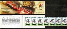 2003 Easter,Bunny,Rabbit,Ritual Eggs,Letter,Ostern,Romania,Mi.5728,Booklet,MNH
