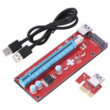 PCI-E Express 1x to 16x Extender Riser Adapter Scheda Adattatore USB 3.0 Cavo