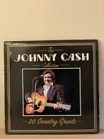 """Johnny Cash – The Collection - 20 Country Greats  Vinyl LP 12"""" 1987 (LP294)"""
