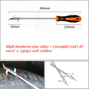 1PC Car SUV tire gap stone cleaning tool multi-function provocative pick-up hook