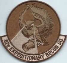 62 EXPEDITIONARY RECONN SQUADRON DEPLOYED US AIR FORCE SQUADRON PATCH