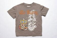 Ed Hardy König Hund T-Shirt (4 Jahre) Brun