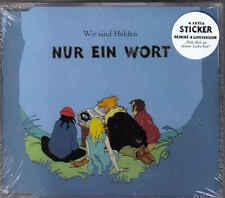 Wir Sind Helden-Nur ein Wort cd maxi single sealed
