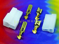 Kabelschuhe KIT 2 polig/way Flat plug / Flachstecker KIT + Gehäuse / Case  #A430