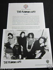 THE FLAMING LIPS 'TRANSMISSIONS FROM A SATELLITE HEART' 1993 PRESS KIT--PHOTO