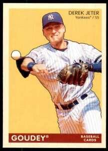 2009 Goudey #130 Derek Jeter New York Yankees