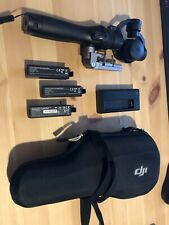 DJI OSMO NA Handheld Fully Stabilized 4K 12MP Camera with case & 3 batteries