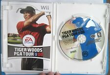 Tiger Woods PGA Tour 08 Nintendo Wii Game Complete with Case & Manual