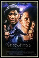 Shawshank Redemption FRIDGE MAGNET 6x8 Magnetic Movie Poster Canvas Print