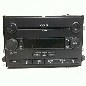 06 07 08 09 Mercury Milan Ford Fusion AM FM 6 disc CD radio receiver 6E5T-18C815