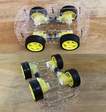 4WD Robot Smart Car Chassis Kits car with Speed Encoder for Arduino M26