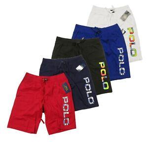 Polo Ralph Lauren Men's Tie-Dye Logo Print Cotton Sleep Shorts