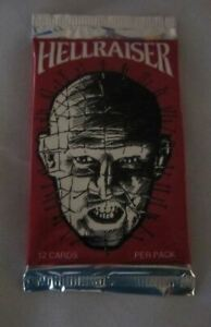 Hellraiser (Movie) Trading Card Pack 1992 Eclipse Enterprises Sealed!!