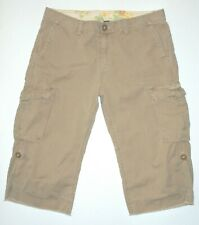 Women's Tagged 31 12 actual 34 waist Lucky Brand Ripstop Cotton Shorts Khaki
