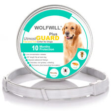 26'' Pet Flea & Tick Collar for Dogs Up to 10 Months Protection Essential Oil