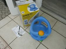 SAFETY 1ST BABY SWIVEL BATH SUPPORT SEAT PASTEL BLUE