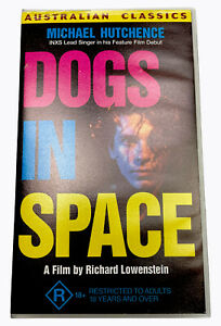 Dogs in Space Michael Hutchence VHS Video Cassette Tape PAL Small Box R18+ 1986