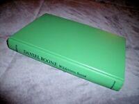 VINTAGE 1957 DANIEL BOONE Wilderness Scout BOOK H/C Stewart Edward White
