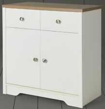 NEW Tesco Somerton 2 Door 2 Drawer Sideboard - Oak Effect & Ivory