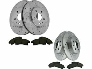 For 2012-2017 Chevrolet Sonic Brake Pad and Rotor Kit Front and Rear 56475HV