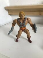 Rare Malaysia Hard Head He-Man Figure Masters Of The Universe  MOTU 80s Vintage