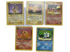 OLD Original Vintage Pokemon Card Lot Played