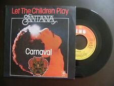 """SP SANTANA """"Carnaval"""" CBS 5005 France (1977)"""