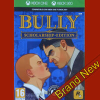 BULLY SCHOLARSHIP EDITION - Microsoft Xbox 360 & XBOX ONE ~PAL~16+ Brand New
