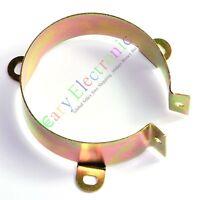 2pcs 65mm Film Electrolytic Can Capacitor metal Clamp Tube sockets audio amp DIY