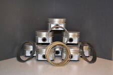 MARINE Chevy GM 350 5.7L OHV V8 - DISH TOP PISTONS & RINGS