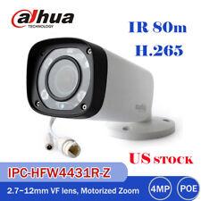 Dahua 4MP IPC-HFW4431R-Z Bullet Security Camera Varifocal 2.7~12mm IR 80m H.265